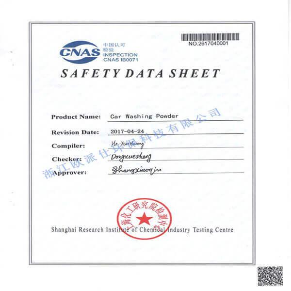 Certificado CNAS3