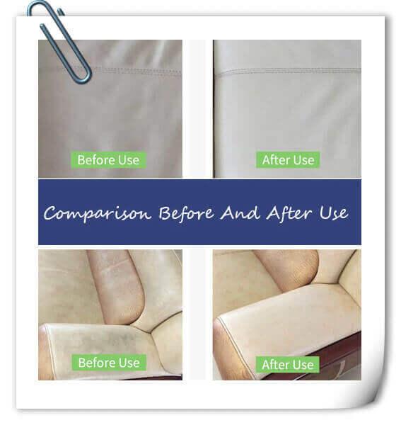 Porównanie efektów przed i po użyciu