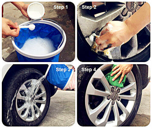 How to safely Clean Wheels