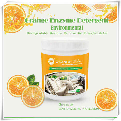 Détergent Enzyme Orange