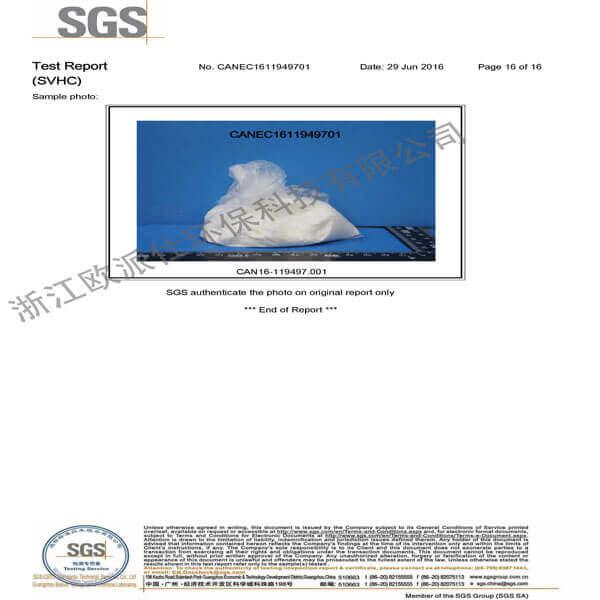 SGS प्रमाणपत्र 3