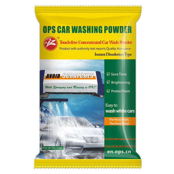 car wash powder
