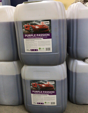 Purple Car Wash Shampoo