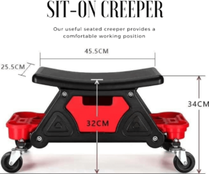 Sit-On Creeper